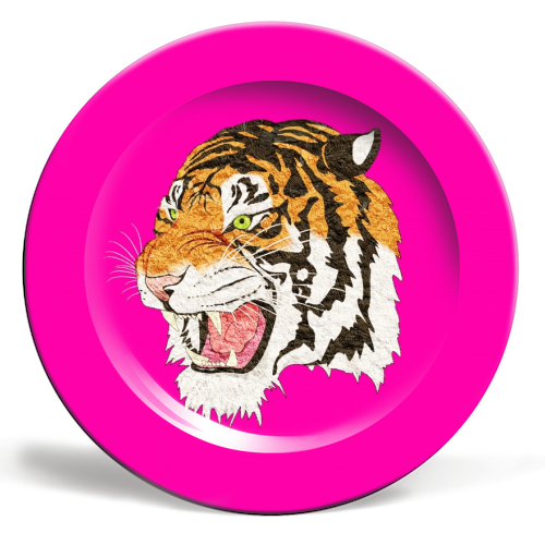 Easy Tiger - personalised dinner plate by Wallace Elizabeth