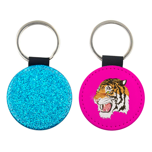 Easy Tiger - personalised leather keyring by Wallace Elizabeth
