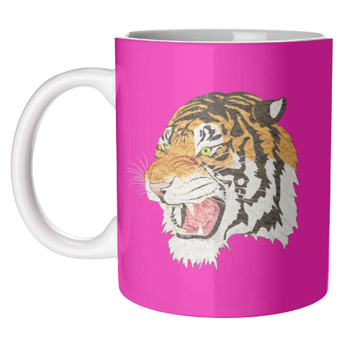 Easy Tiger - unique mug by Wallace Elizabeth