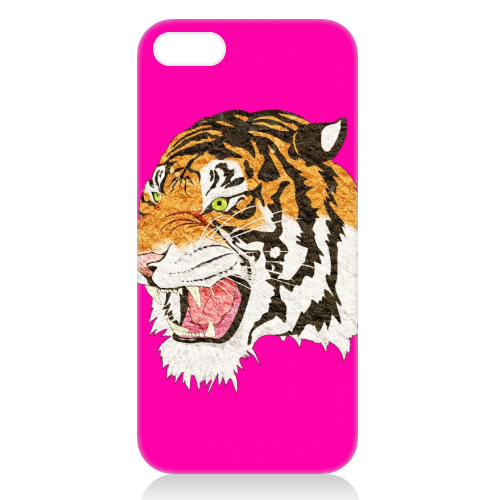 Easy Tiger - unique phone case by Wallace Elizabeth