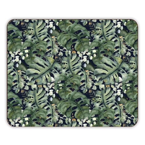 Tropical Blooms - photo placemat by Natalie Hancock