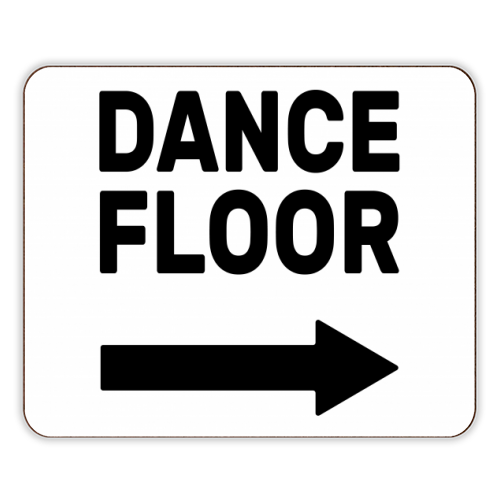 Dance Floor (right) - photo placemat by The Native State