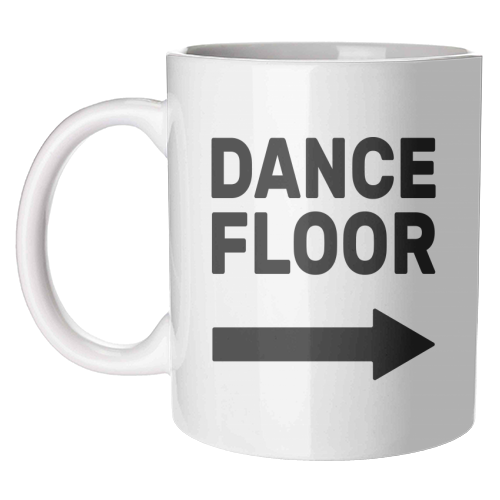 Dance Floor (right) - unique mug by The Native State