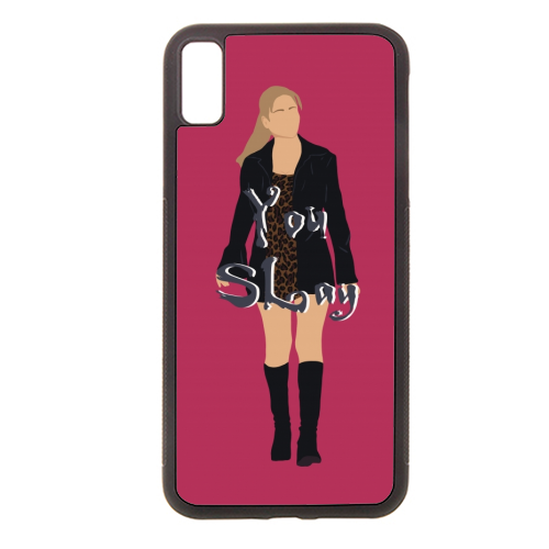 Buffy - Rubber phone case by Cheryl Boland