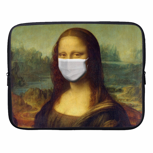 Rona Lisa - designer laptop sleeve by Wallace Elizabeth