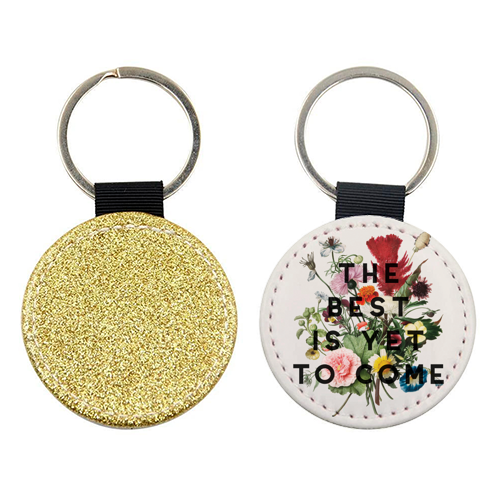 The Best Is Yet To Come - personalised picture keyring by The 13 Prints