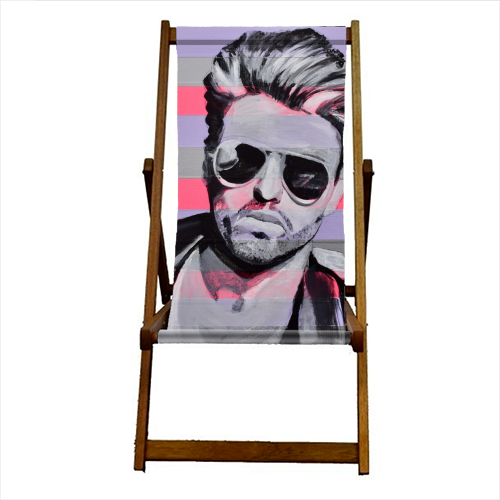 George - canvas deck chair by Kirstie Taylor