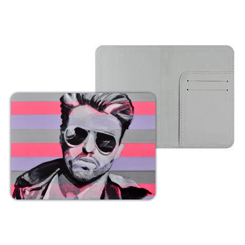 George - designer passport cover by Kirstie Taylor