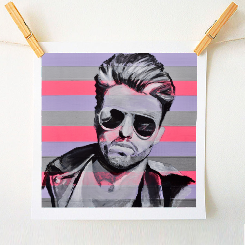 George - original print by Kirstie Taylor