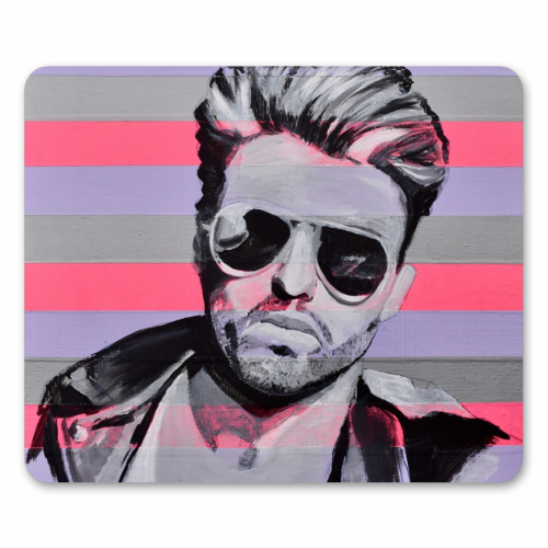 George - personalised mouse mat by Kirstie Taylor