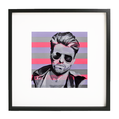 George - printed framed picture by Kirstie Taylor