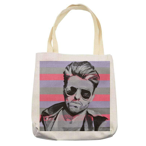 George - printed tote bag by Kirstie Taylor