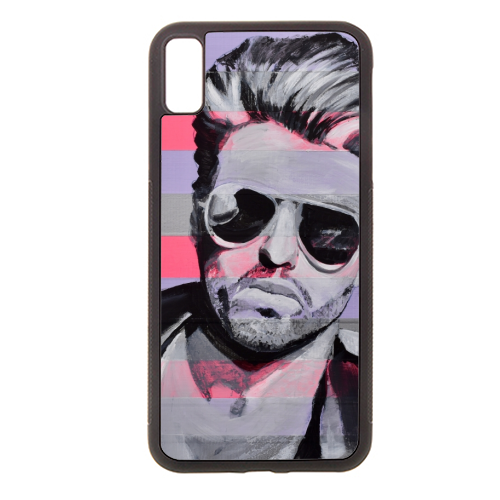 George - Rubber phone case by Kirstie Taylor