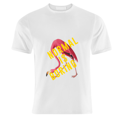 Normal Is Boring - unique t shirt by The 13 Prints