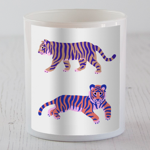 Tigers - Candle by Catalina Williams
