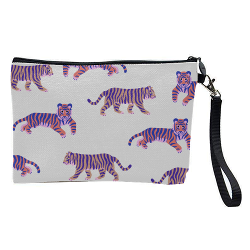Tigers - pretty makeup bag by Catalina Williams