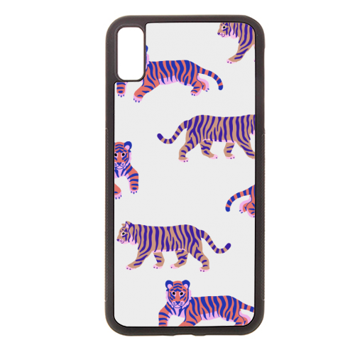 Tigers - Rubber phone case by Catalina Williams