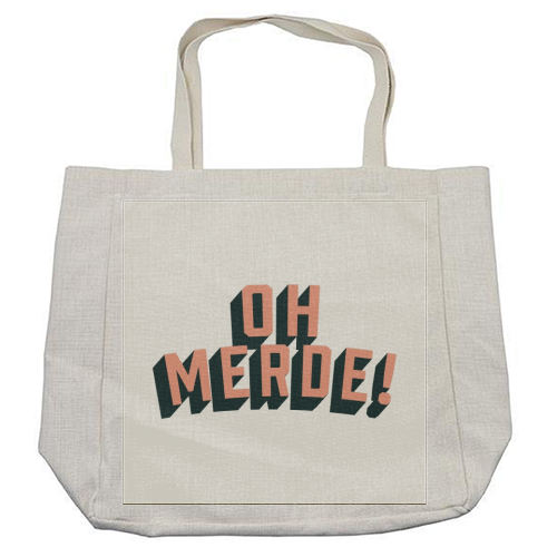 Oh Merde! - cool beach bag by The Native State