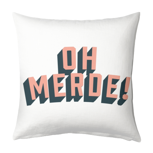 Oh Merde! - designed cushion by The Native State