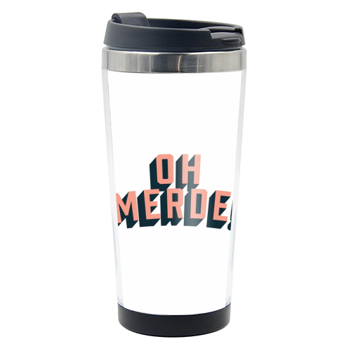 Oh Merde! - travel water bottle by The Native State