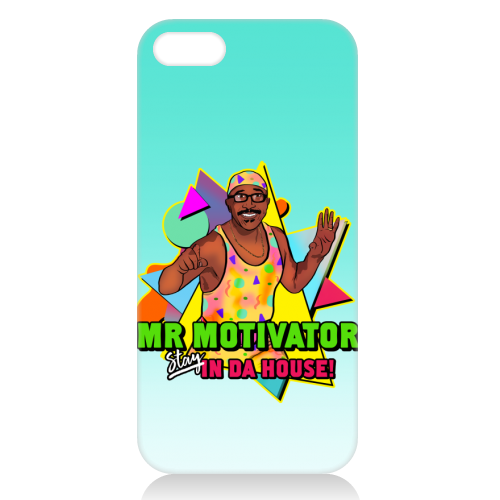 Mr Motivator Stay In Da House - unique phone case by Niomi Fogden