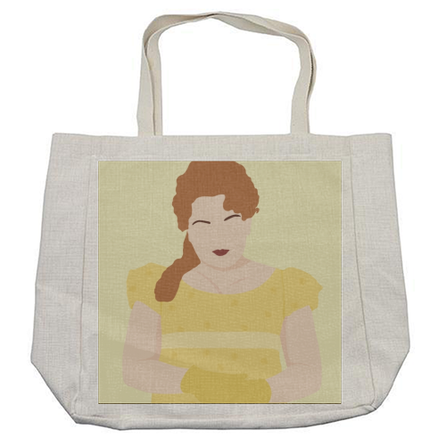 Penelope Featherington of Bridgerton - cool beach bag by Cheryl Boland