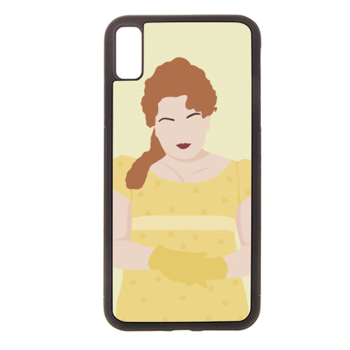 Penelope Featherington of Bridgerton - Rubber phone case by Cheryl Boland