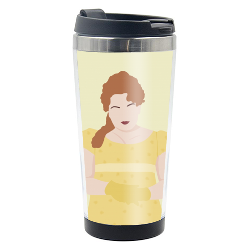 Penelope Featherington of Bridgerton - travel water bottle by Cheryl Boland