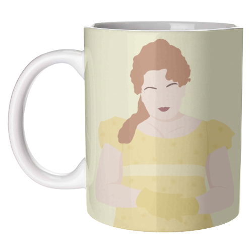 Penelope Featherington of Bridgerton - unique mug by Cheryl Boland