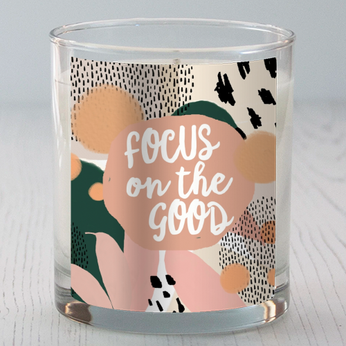 Focus On The Good - Candle by Giddy Kipper