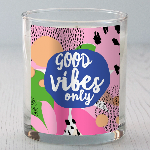 Good Vibes Only - Candle by Giddy Kipper