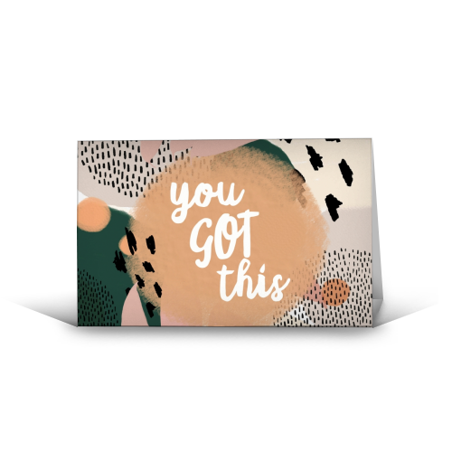 You Got This - funny greeting card by Giddy Kipper