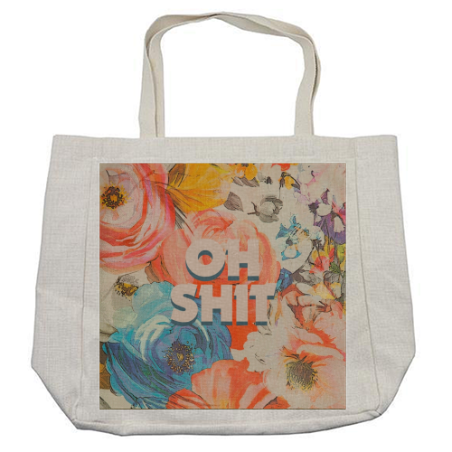 All The Swears no.2 - cool beach bag by Giddy Kipper