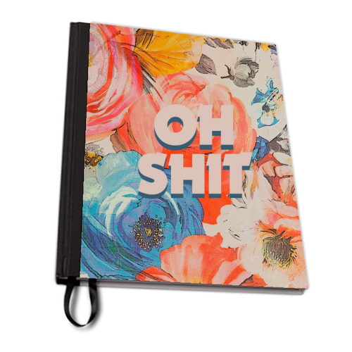 All The Swears no.2 - designed notebook by Giddy Kipper