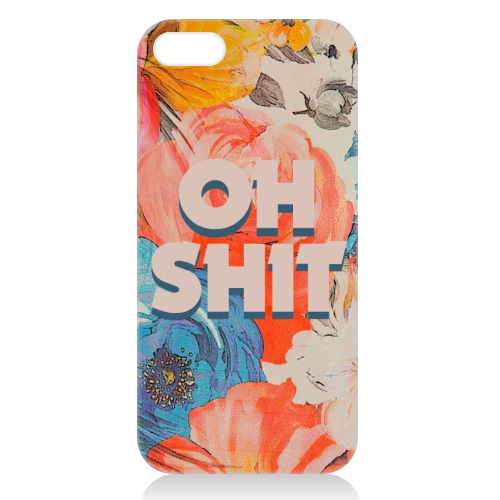 All The Swears no.2 - unique phone case by Giddy Kipper