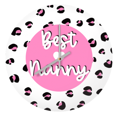 Best Nanny - creative clock by Adam Regester