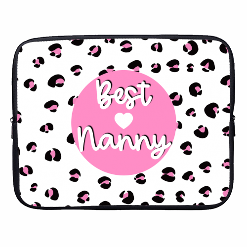 Best Nanny - designer laptop sleeve by Adam Regester