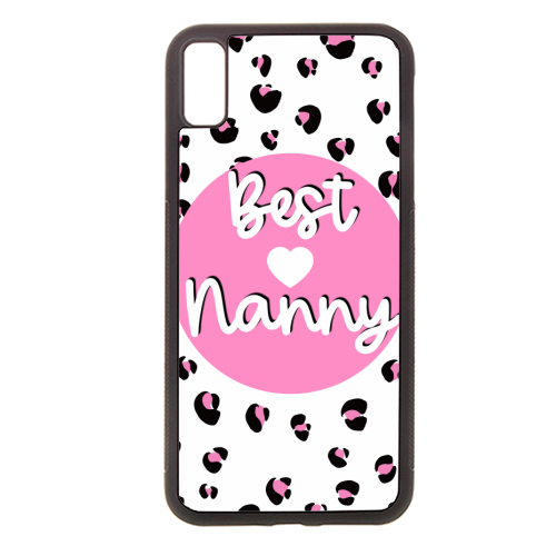 Best Nanny - Rubber phone case by Adam Regester