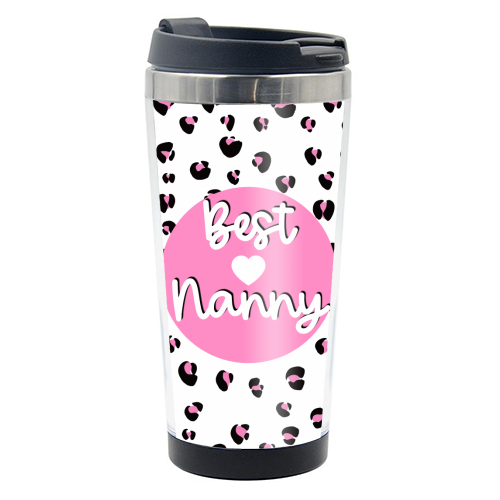 Best Nanny - travel water bottle by Adam Regester
