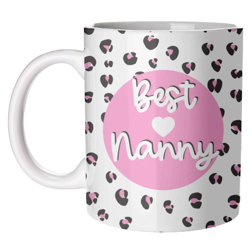Best Nanny - unique mug by Adam Regester
