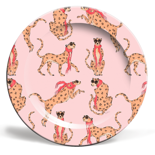 Wild One - personalised dinner plate by Natasha Joseph
