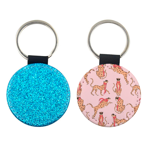 Wild One - personalised picture keyring by Natasha Joseph