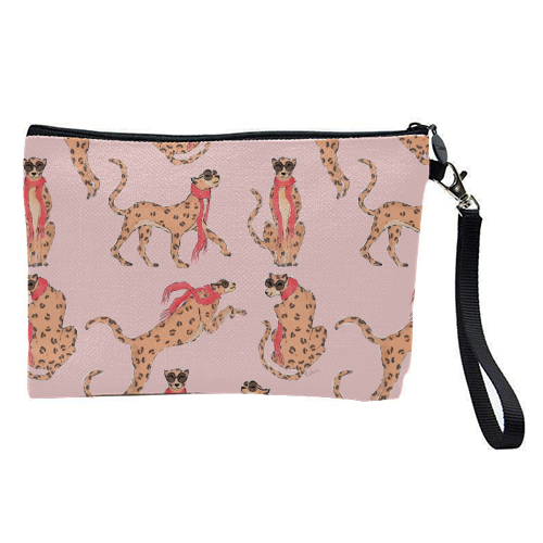 Wild One - pretty makeup bag by Natasha Joseph