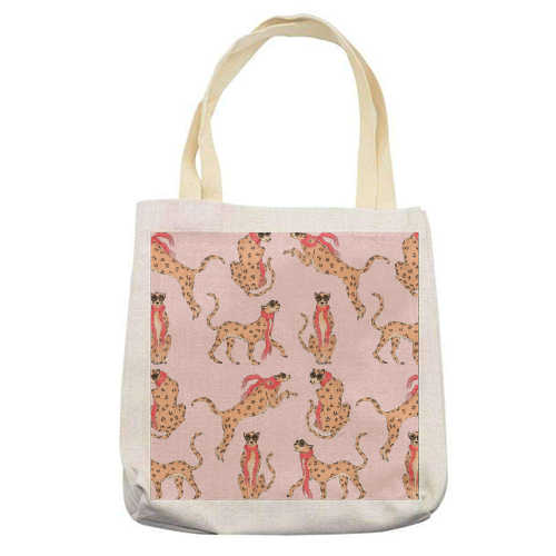 Wild One - printed tote bag by Natasha Joseph