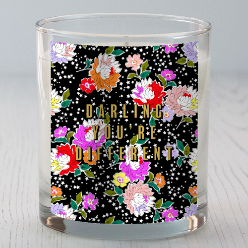 DARLING YOU'RE DIFFERENT - Candle by PEARL & CLOVER