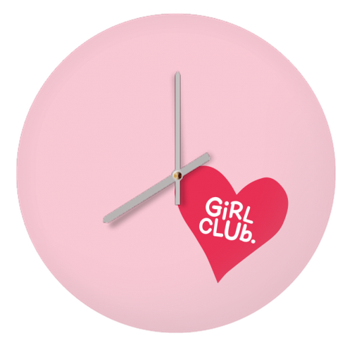 GIRL CLUB - creative clock by The Boy and the Bear