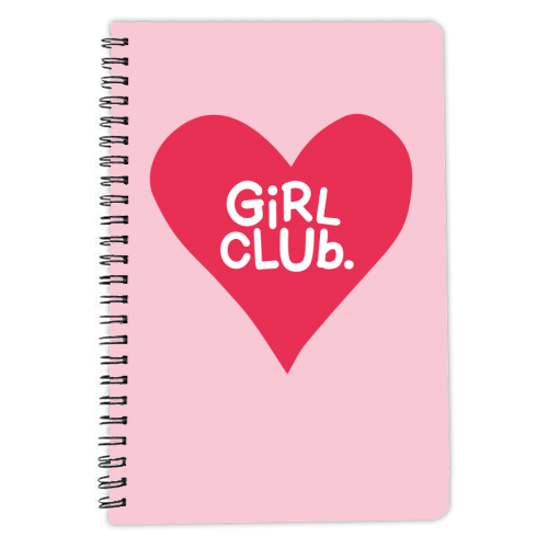 GIRL CLUB - designed notebook by The Boy and the Bear