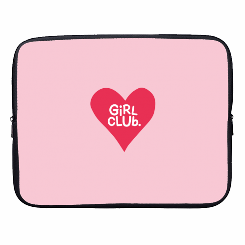 GIRL CLUB - designer laptop sleeve by The Boy and the Bear
