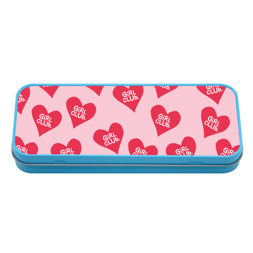 GIRL CLUB - tin pencil case by The Boy and the Bear