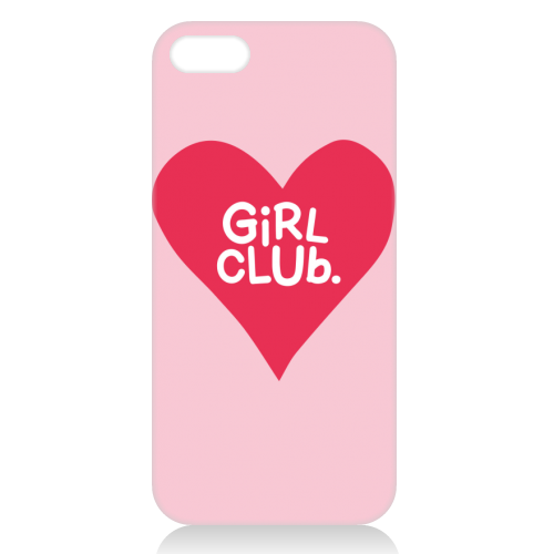 GIRL CLUB - unique phone case by The Boy and the Bear